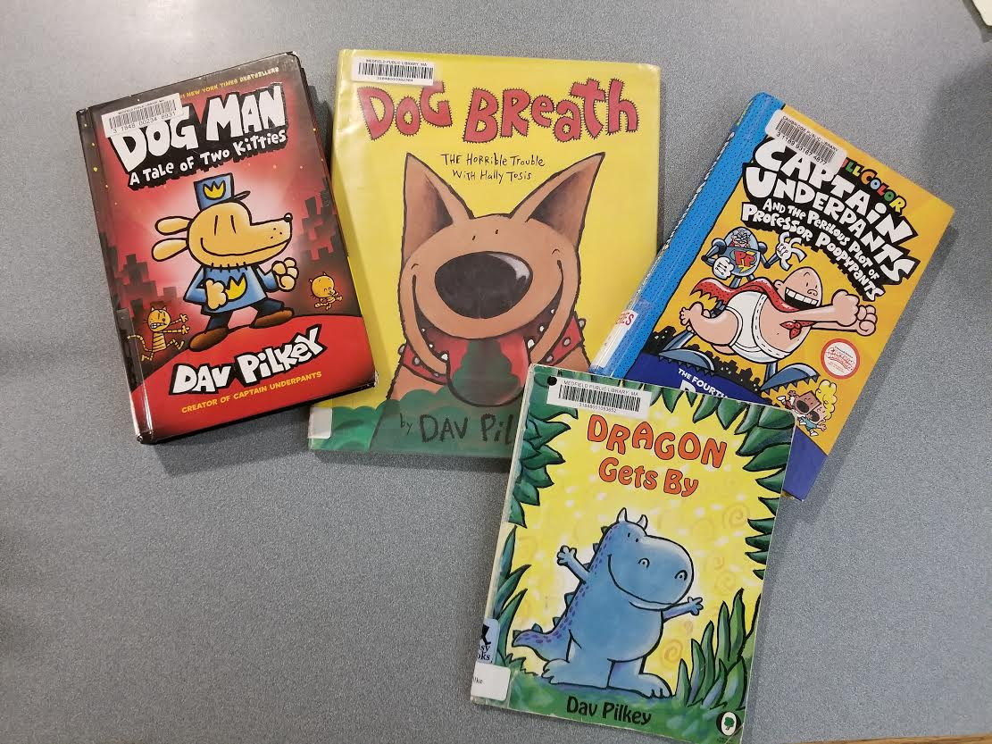 Author of the month Dav Pilkey